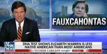 'Fauxcahontas Is On The Warpath': Tucker Carlson Mocks Elizabeth Warren