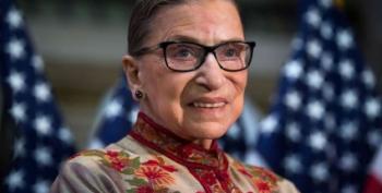 Justice Ruth Bader Ginsburg Falls, Fractures Three Ribs