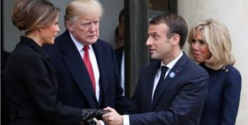 Citing Rain, Trump Backs Out Of Memorial To Veterans In France