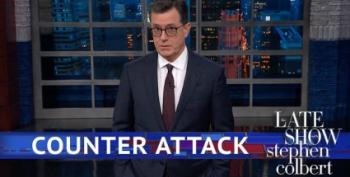 Stephen Colbert Explains To Trump How Elections Work