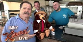 Jimmy Kimmel Takes On Trumpy Bear