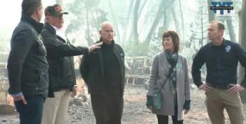 Trump Still Thinks California Should 'Rake' Forests: 'We've Got To Take Care Of The Floors'