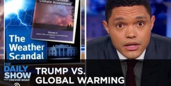 The Daily Show Looks At The Climate Change Report