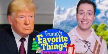 New Randy Rainbow:  Trump's 'Favorite Things'