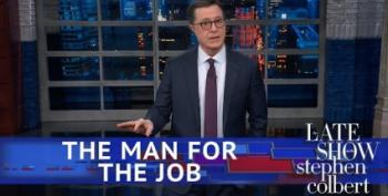 Stephen Colbert Throws His Hat In The Ring For Chief Of Staff