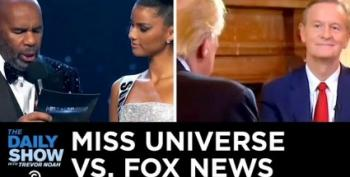 Questions For Miss Universe Were Harder Than Anything Fox Asks Trump