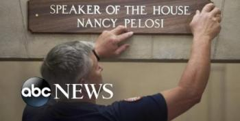 Nancy Pelosi's Back In Charge Of The House, And Other News