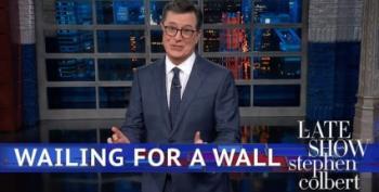 Late Night Comedians Return To Slam Trump, Shutdown