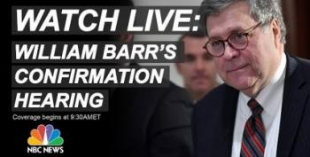 WATCH LIVE: Senate Judiciary Committee Hearings On William Barr
