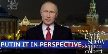 Vladimir Putin's 'Response' To The State Of The Union