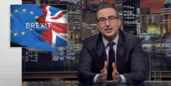 John Oliver Talks About The Effects Of The UK's Brexit III