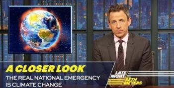 Seth Myers: Climate Change Really IS A National Emergency