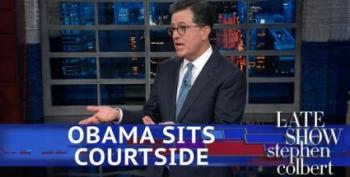 Colbert Is Pretty Sure Trump Won't End Up On Mt. Rushmore
