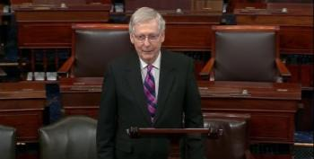 McConnell Blames Democrats For Republicans Committing Voter Fraud