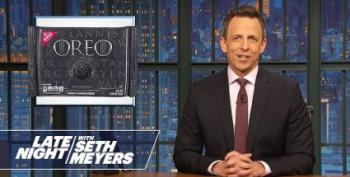 Seth Meyers 'Celebrates' Disbarment Of Michael Cohen