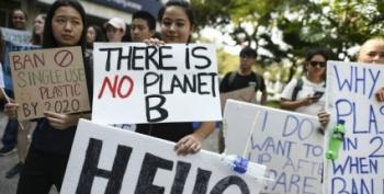 Students Strike Worldwide For Climate Action