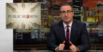 On Last Week Tonight, John Oliver Weighs Public Shaming