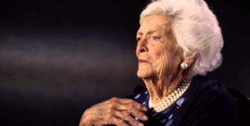 Even Barbara Bush Hated Trump