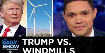 Trevor Noah Laughs At Trump's Tilt At Windmills