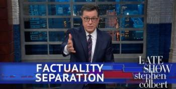 Colbert Rips Trump For Claiming Obama Started Child Separation Policy