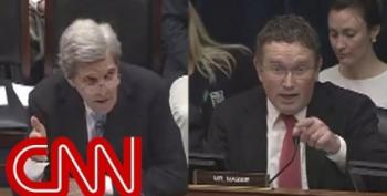 'Are You Serious?!' Sec. John Kerry Confronts The Depths Of Rep. Massie's Stupidity