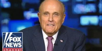 Rudy Guiliani Admits He's Had Mueller Report For Two Days