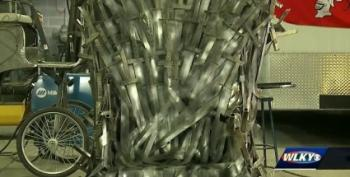 Groom Welds A GoT Iron Throne For His Bride