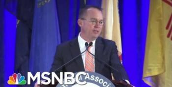 Mick Mulvaney Doesn't Remember Anything Like That Happening, Nope