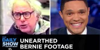 Daily Show Finds Hilarious Clips Of Bernie On '80's Access TV