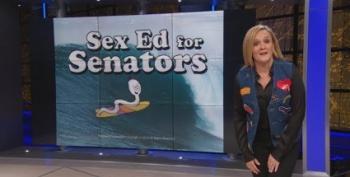 Sam Bee Presents Sex Ed For Senators