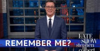 Stephen Colbert Is Thrilled That Merrick Garland Will Rule On Trump Appeal