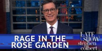 Stephen Colbert Has Fun With Trump's 'Nationally Televised Hissy Fit'