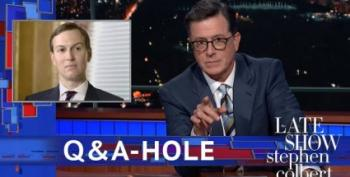 Jared Kushner Explains Why Trump Isn't Racist, Colbert Explains Why He Is