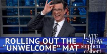 Late Night Hosts Mock Trump's London Fail