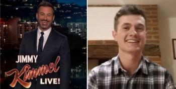 Teen Who Lawn-Scaped Penis For Trump Talks To Jimmy Kimmel