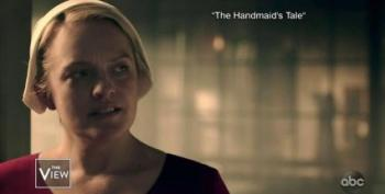 Elizabeth Moss Compares 'Handmaid's Tale' To Current Threats To Roe