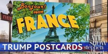 Stephen Colbert Presents 'Postcards From Trump'