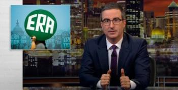 John Oliver Challenges One More State To Ratify The Equal Rights Amendment