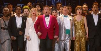 James Corden's Remarkable Tony Award Opening