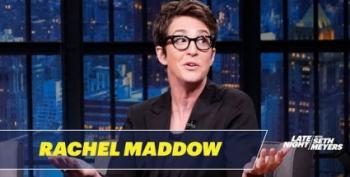 Rachel Maddow On Late Night With Seth Meyers