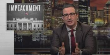 John Oliver Explains Why He's Now In Favor Of Impeaching Trump