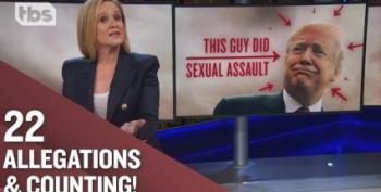 Samantha Bee Pillories Media For Soft Coverage Of Trump Rape Accusations