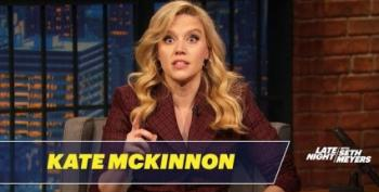 Kate McKinnon Nails A Marianne Williamson Impression Just In Time