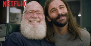 Dave Letterman And Jonathan Van Ness On Beards Is Everything