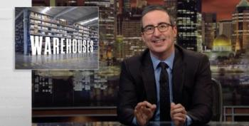 John Oliver Makes Us Think About What Happens When We Click Amazon's Buy Button