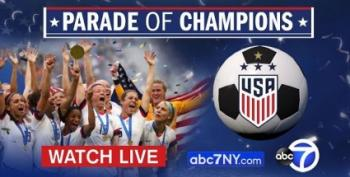 LIVE: New York Welcomes U.S. Soccer Champs With Tickertape Parade