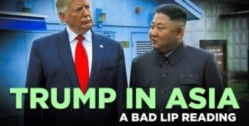 Bad Lip Reading Presents 'Trump In Asia'