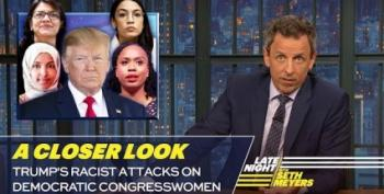 Seth Meyers Takes 'A Closer Look' At Trump's Racism