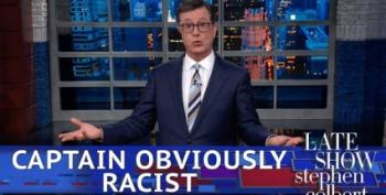 Stephen Colbert On Trump's Racist Rant: It's The Squad Vs. The Klan!