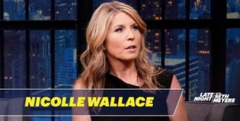 Nicolle Wallace Talks To Seth Meyers About Calling Out Trump's Racism